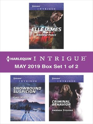 cover image of Harlequin Intrigue May 2018, Box Set 1 of 2
